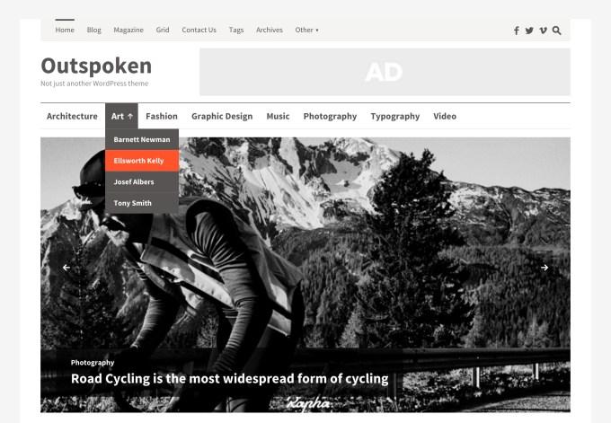 Magazynowy szablon WordPress