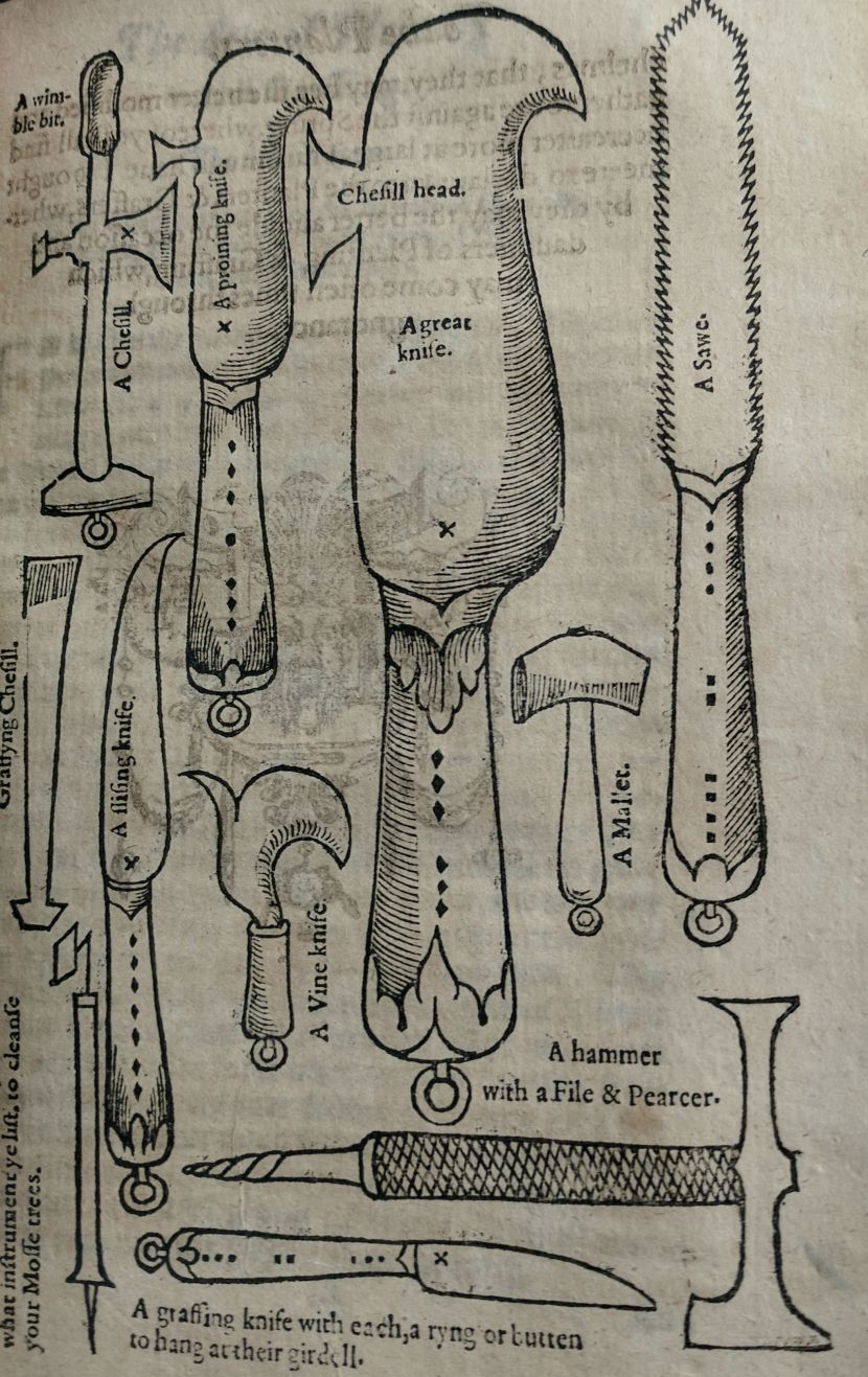 Grafting Knives from the St Andrews copy
