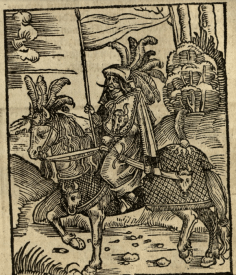 Illustration from the Siege of Rhodes