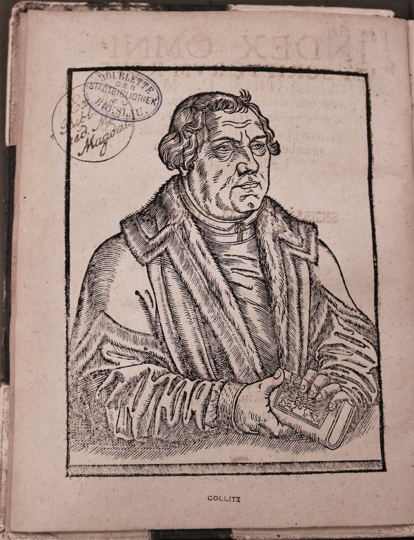 Martin Luther frontispiece