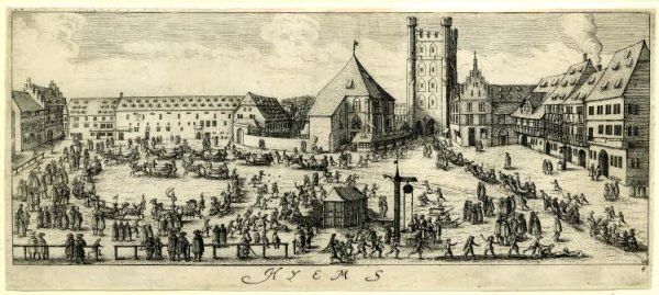 Hyems by Wenceslaus Hollar