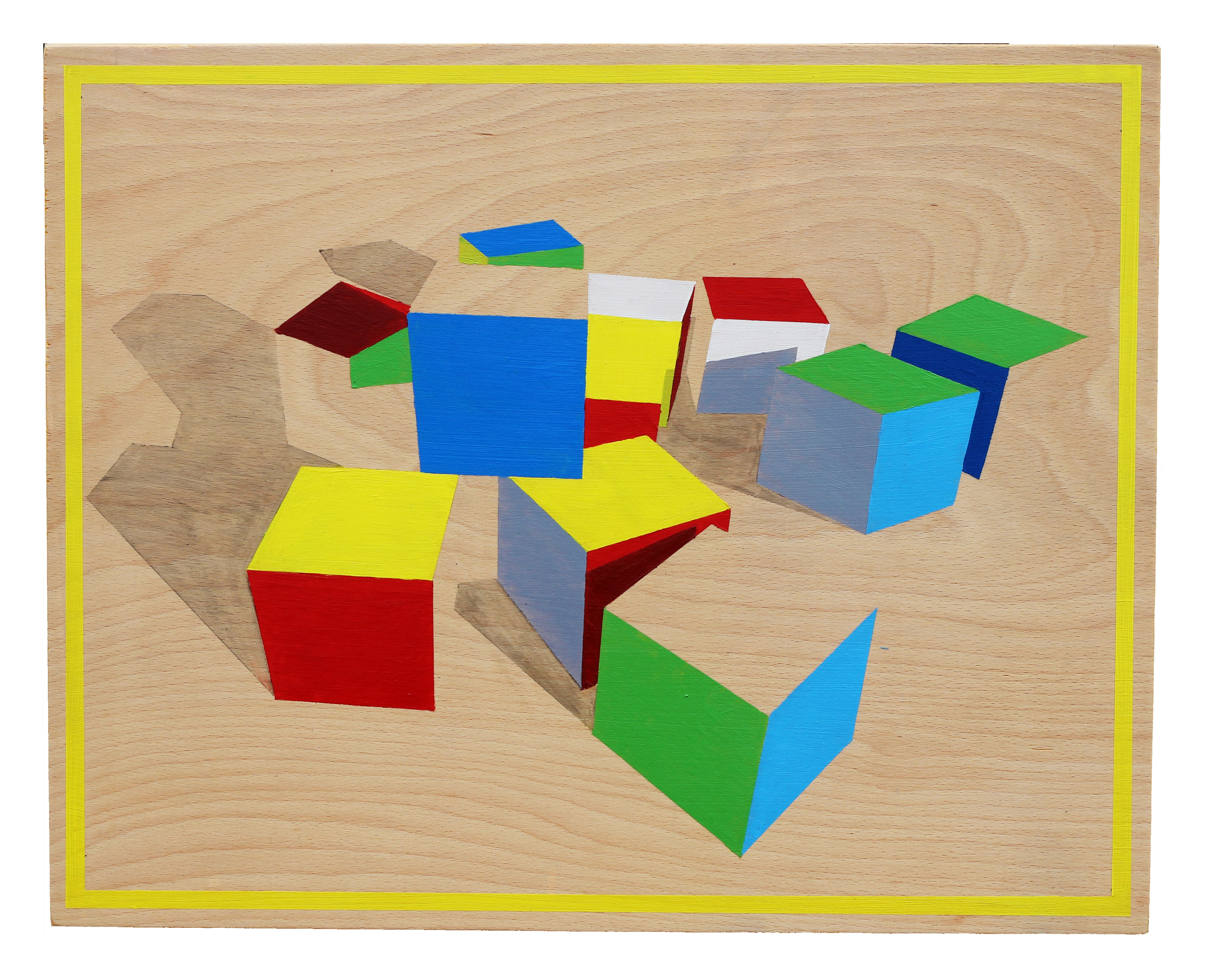 Composition Colour And Spatial Perception Works