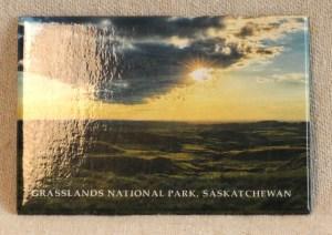 Robert Postma Magnet Sunset in Grasslands