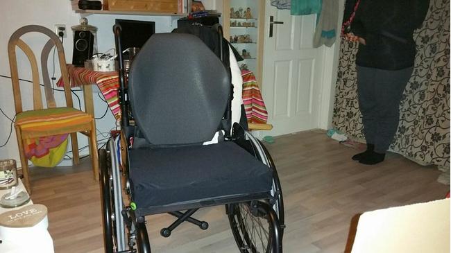 Een nieuwe rolstoel… helemaal nog niet zo gemakkelijk