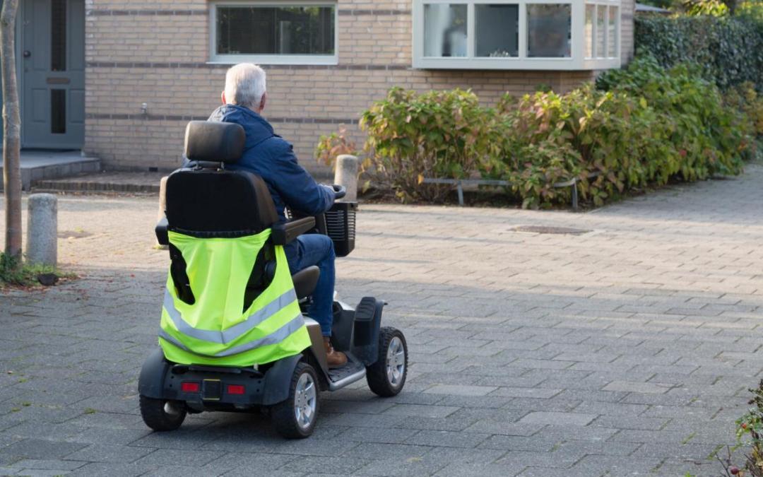 Zo rijdt u veilig met uw scootmobiel