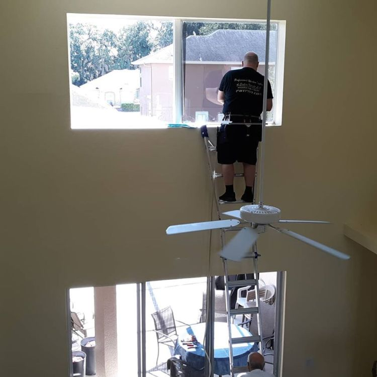 Window Film. Oviedo, Florida residential window tinting