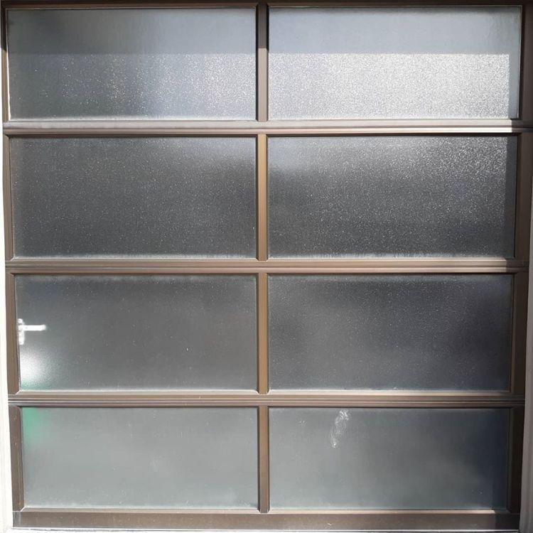Decorative textured window film