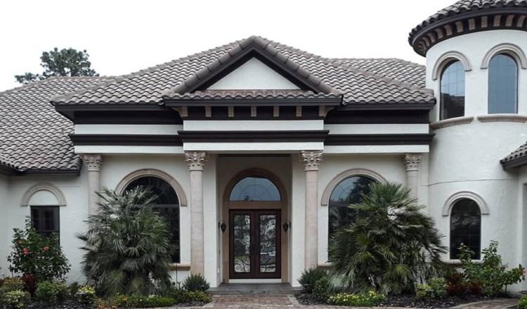 Residential Window Tinting installed on house portfolio