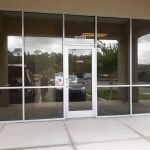 Professional Window Tinting on commercial windows in Oviedo
