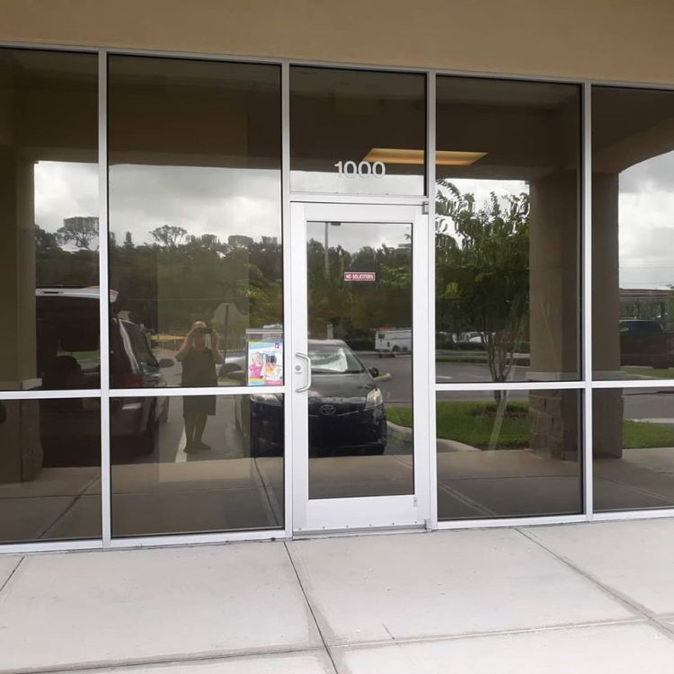 Commercial window tinting in Oviedo, Florida. Professional Window Tinting of Central FL LLC
