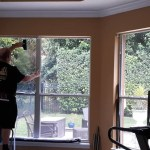 Residential Window Tinting installation