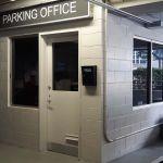 Orlando Parking garage office windows with tint