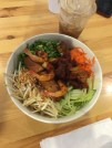 Vermicelli Noodles with shrimp and pork