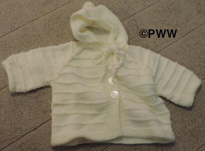 Mary's grandchild knit