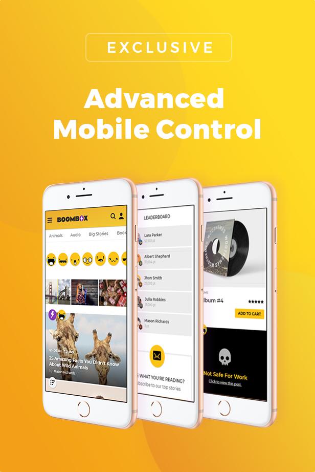 Advanced Mobile Control