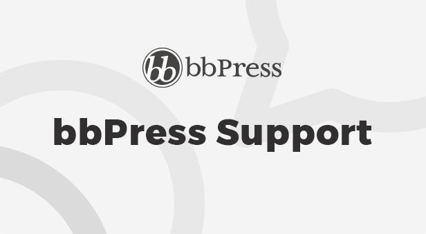 bbPress Support