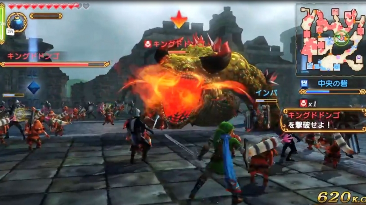 Hyrule Warriors Preview