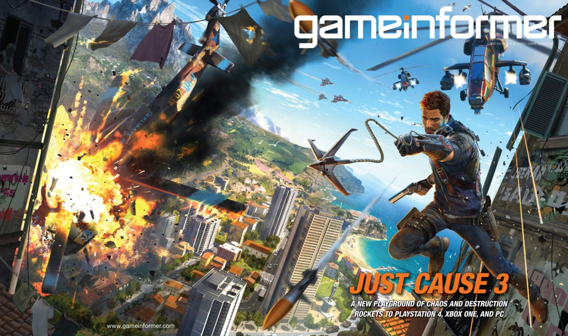 Just Cause 3 Image du jeu mag Game Informer