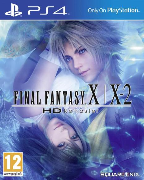 Final Fantasy X - X-2 PS4 Cover