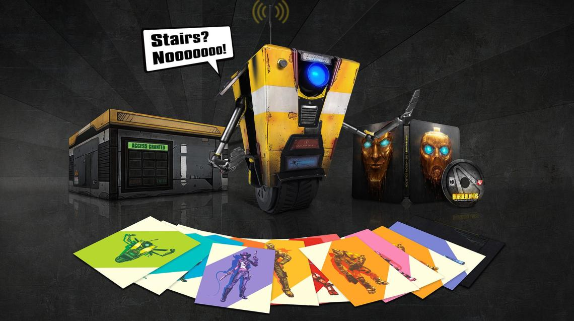 Borderlands The Handsome Collection Collector Clap trap