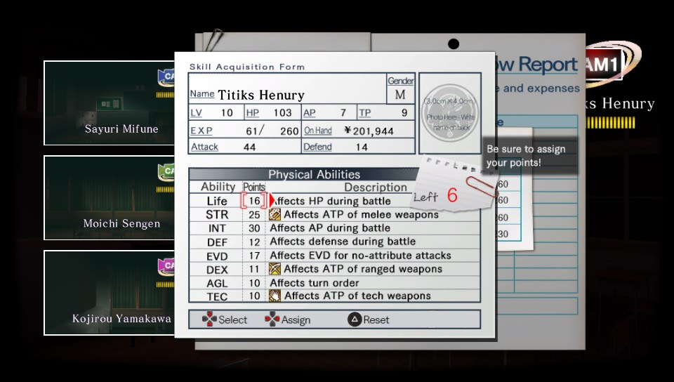 tokyo twilight ghost hunters statistiques