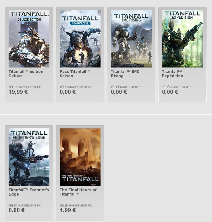 Titanfall DLC gratuits Image