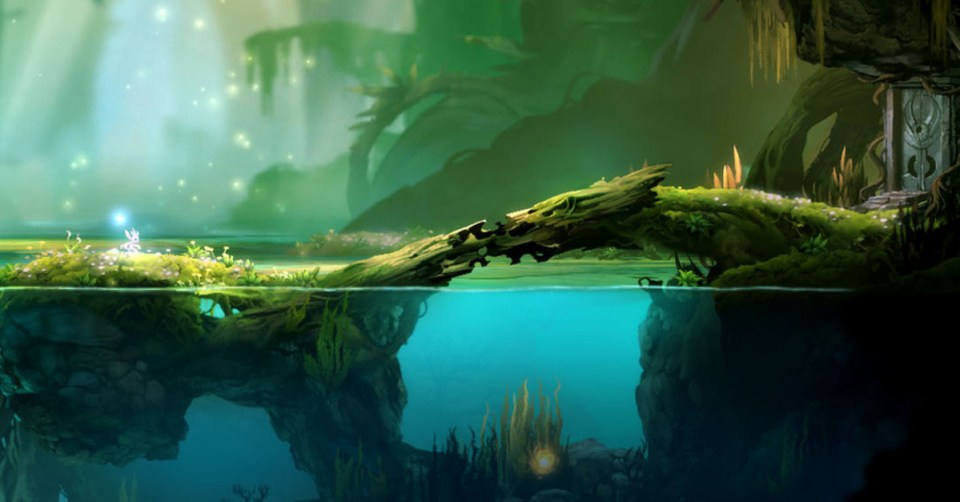 screenshot ori and the blind forest sur xbox one et pc
