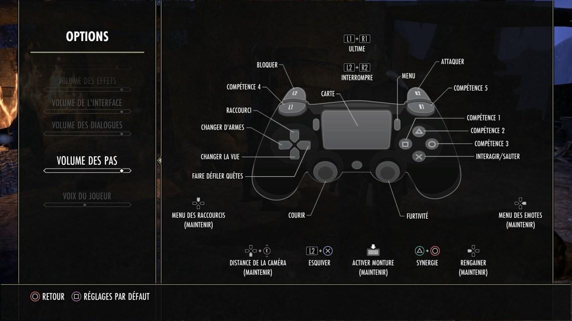 Les commandes consoles sont bien pensées