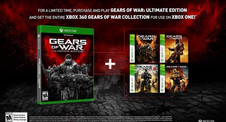 Gears of War Ultimate Edition jeux gratuits Gears of War