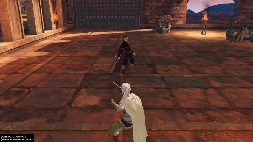 Dommage que les duels souffrent de l'imprécision du gameplay