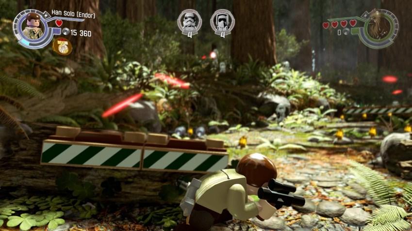 En plus d'être joli, ce jeu LEGO varie ses séquences de jeu