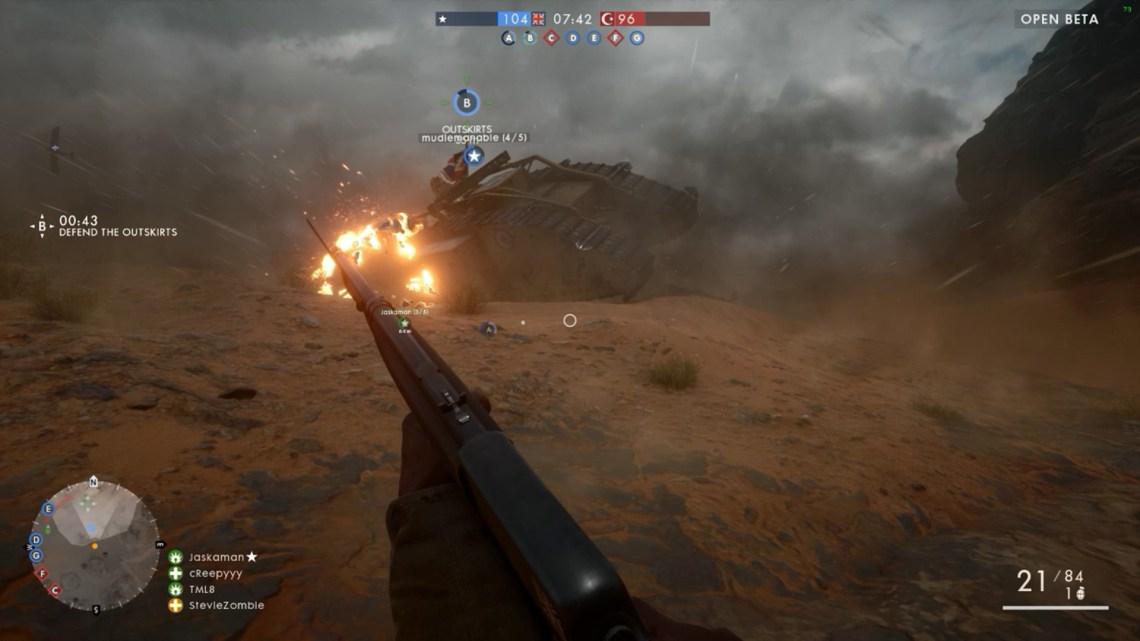 Bon courage pour vous débarasser du tank lourd