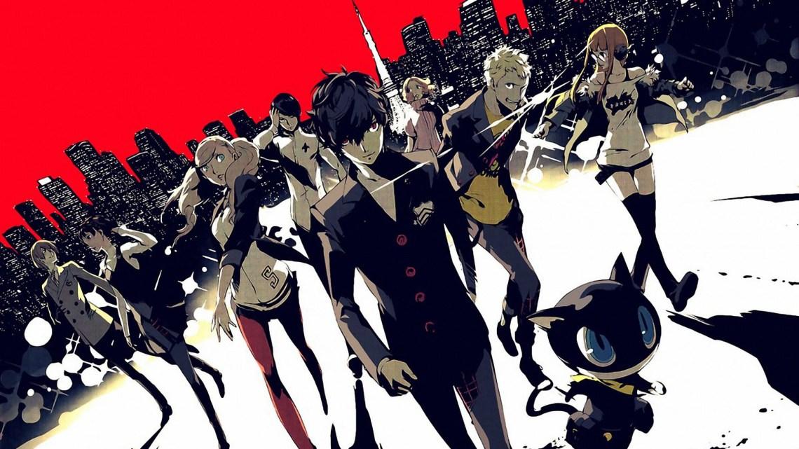 Persona 5 art