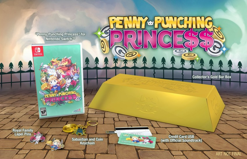 penny punching princess edition collector