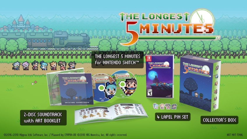 the longest 5 minutes edition collector