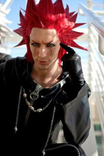 Kingdom Hearts 358/2 Days - Axel © Leon Chiro