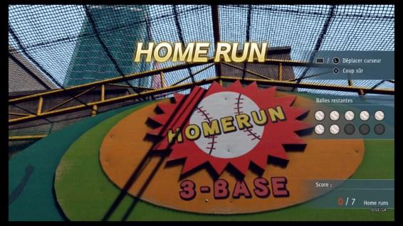 Du base-ball en cage