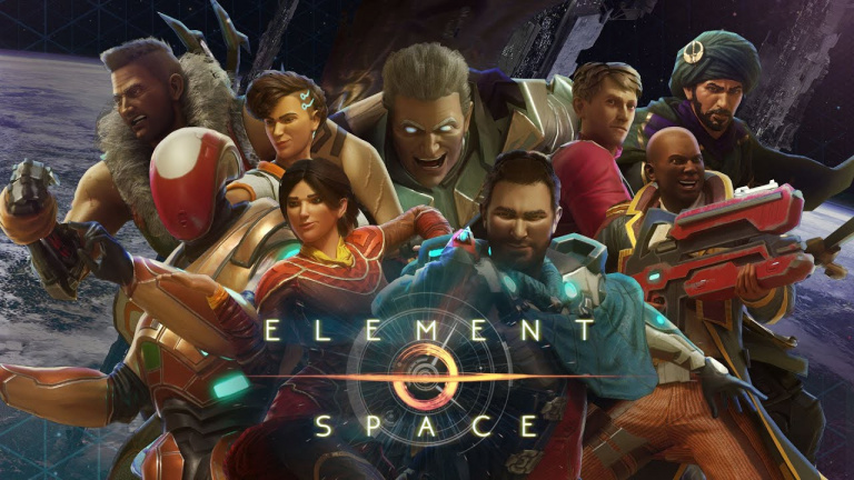Test Element Space wallpaper