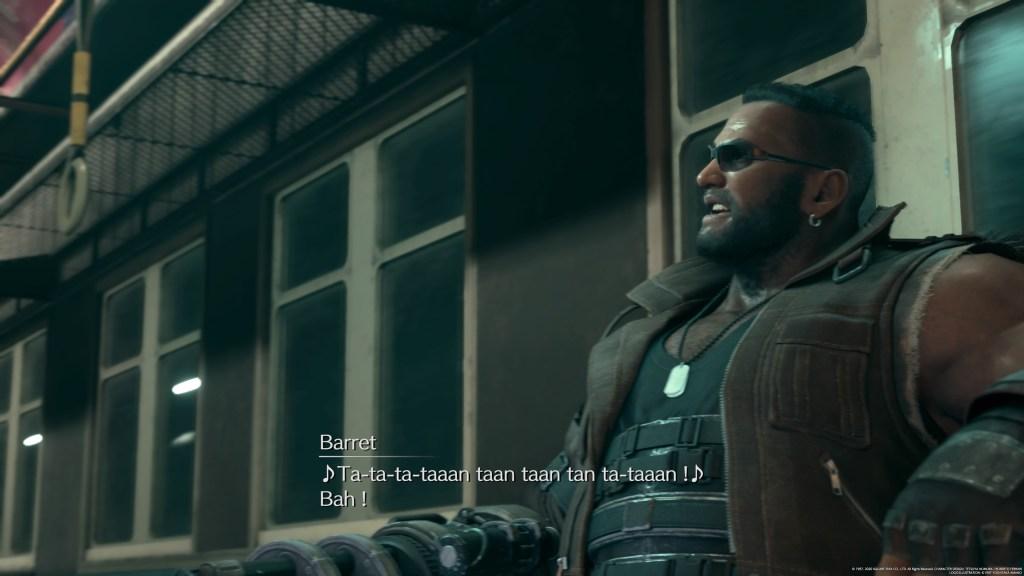 Final Fantasy VII Remake Barret