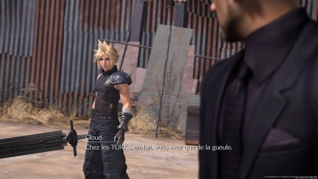Final Fantasy VII Remake Turks