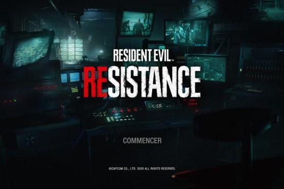TEST RESIDENT EVIL RESISTANCE PS4