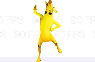 Bhangra Boogie danse Fortnite par Peely, un personnage banane