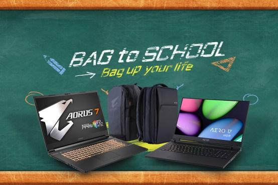 gigabyte promo bag to school
