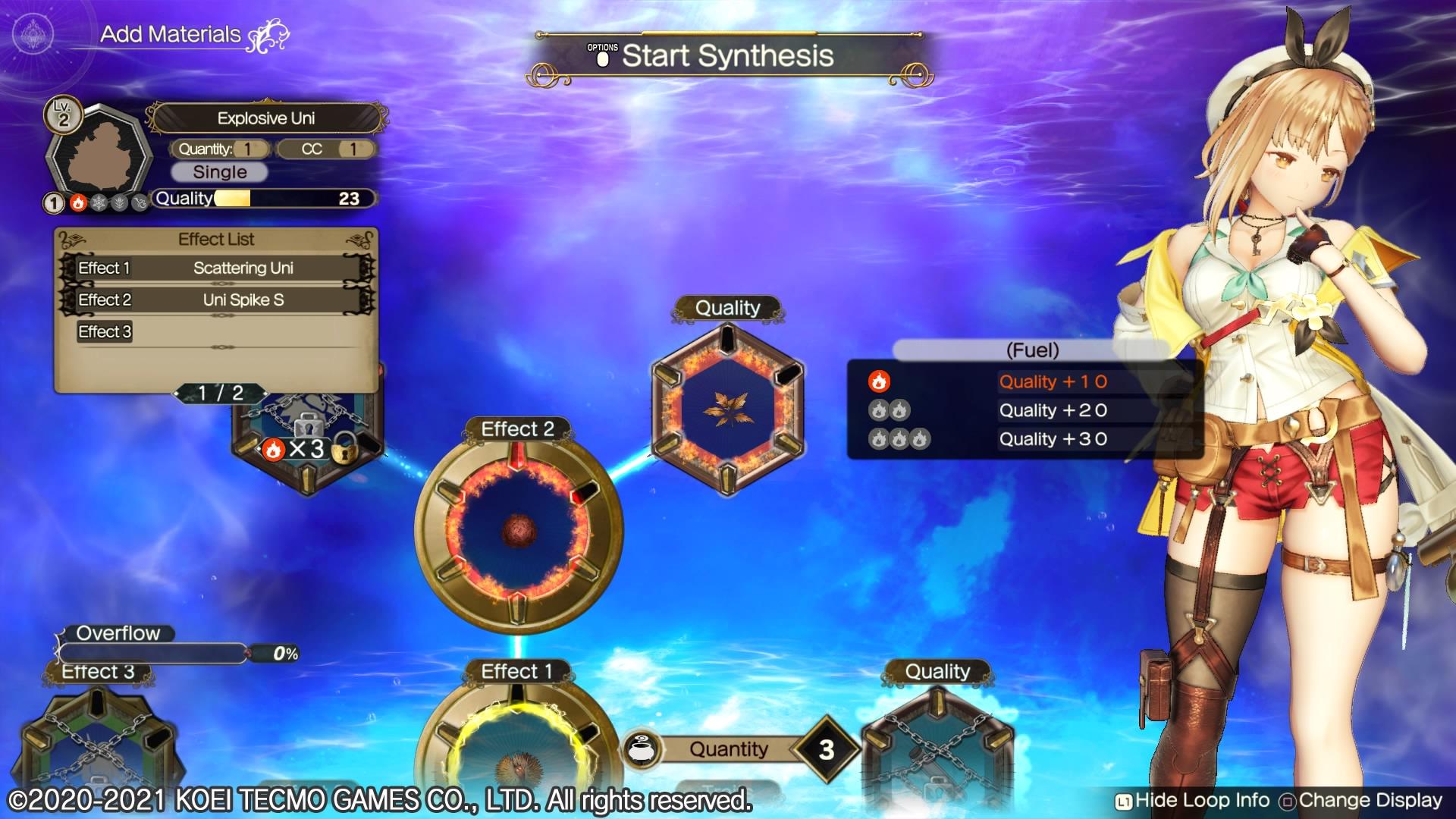 Atelier Ryza 2 alchimie