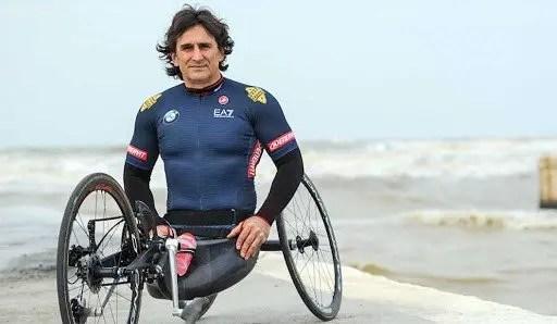 Alex Zanardi, pilota e paraciclista olimpionico