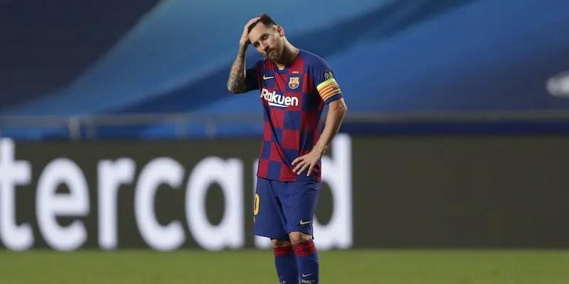Messi dopo la sconfitta per 8 a 2