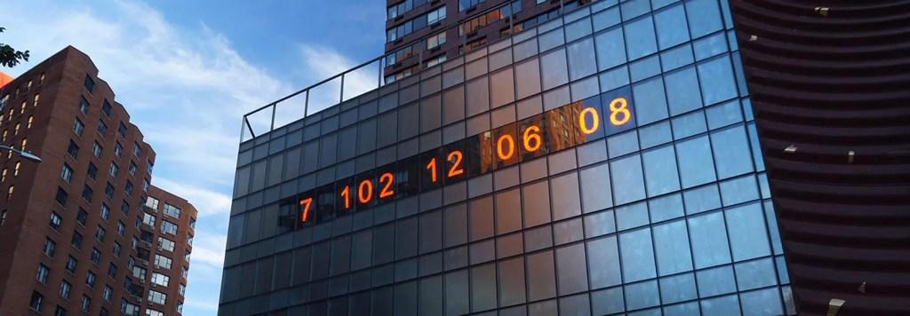 Metronome Clock, NYC