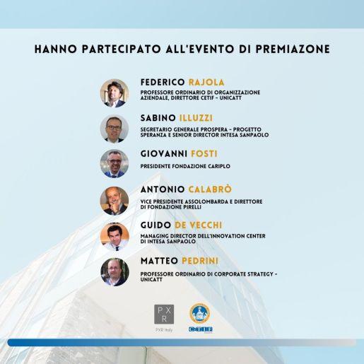 PXR Italy premiata per sostenibilità e visione strategica