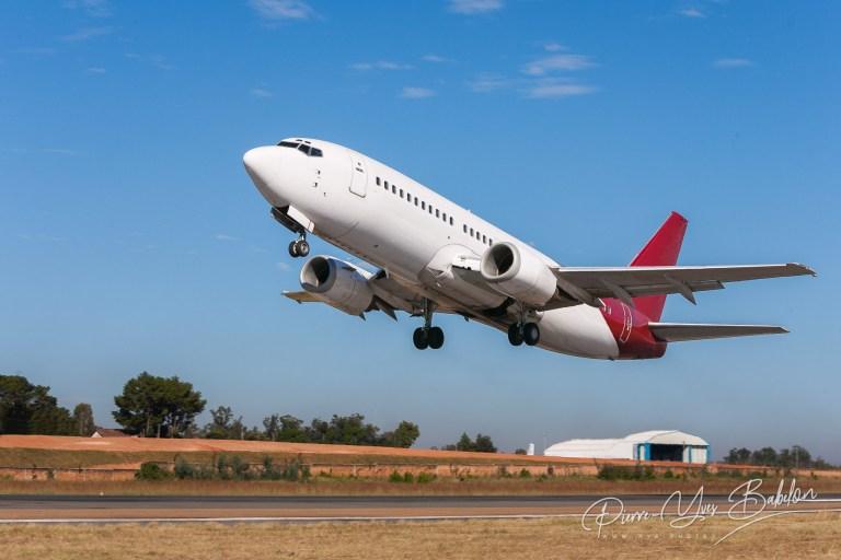 Takeoff airplane