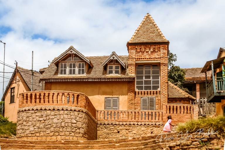 Typical architecture of Fianarantsoa
